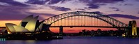 Sydney Harbor Bridge At Sunset,  Australia Fine-Art Print