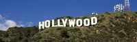 Hollywood Hills Sign, Los Angeles, California Fine-Art Print