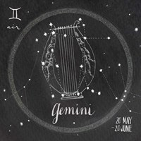 Night Sky Gemini Fine-Art Print