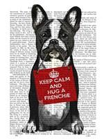Hug a Frenchie Fine-Art Print