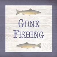 Gone Fishing Salmon Fine-Art Print