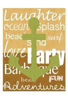 Beach Anchor Fine-Art Print