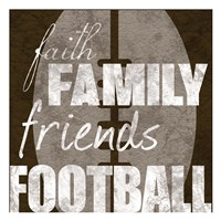 Football Friends Fine-Art Print