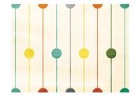 Retro Stripe Circles Fine-Art Print