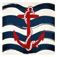Anchor Waves Fine-Art Print