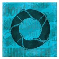 Summer  Bright Lifesaver Fine-Art Print