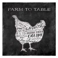 Farm To Chicken Fine-Art Print