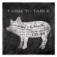 Farm To Pig Fine-Art Print