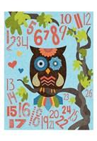 Owl Set Numlet 2 Fine-Art Print
