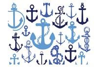 Anchor Blues 1 Fine-Art Print