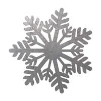 Silver Snowflakes 1 Fine-Art Print