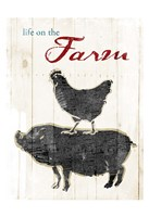 Life On The Farm Fine-Art Print
