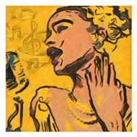 Lady Blues Fine-Art Print