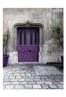 Purple Door 4 Fine-Art Print