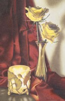 Candle Lit Roses Fine-Art Print