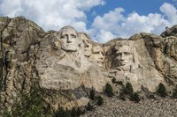 Mount Rushmore In Day Fine-Art Print
