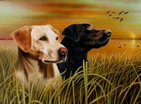 Hunting Dogs Fine-Art Print