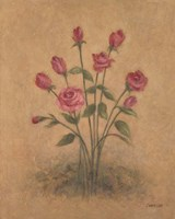 Bunch of Red Roses Fine-Art Print