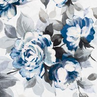 Scent of Roses Indigo III Fine-Art Print