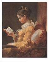 Girl Reading Fine-Art Print