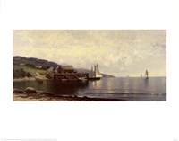 Landing, Bailey Island Me Fine-Art Print
