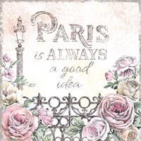 Paris Roses IV Fine-Art Print