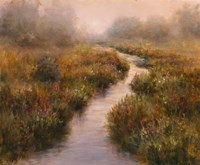 Misted Brook, Arlington Fine-Art Print