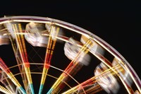 Blurred Motion Carnival Ride at Night Fine-Art Print