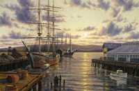 Harbor Sunset Fine-Art Print