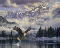 Majestic Fisherman Fine-Art Print