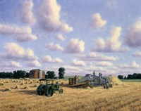 Threshing Day Fine-Art Print
