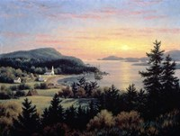 Sunset From Village Point Fine-Art Print