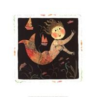 Mermaid Slips Through Your Fingers Fine-Art Print