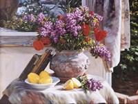 Lilacs And Lemons Fine-Art Print