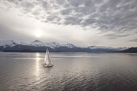 Sailing at Sunset, Alaska 09 Fine-Art Print