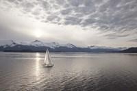Sailing at Sunset, Alaska 09 Fine-Art Print