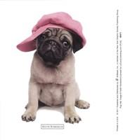 Pug Hat Fine-Art Print