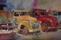 Trucks In Montrose Fine-Art Print