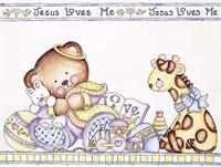 Jesus Loves Me 2 Fine-Art Print
