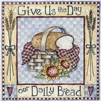 Give Us This Day Our Daily Bread Fine-Art Print