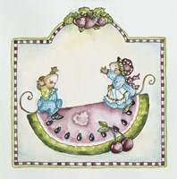 Watermelon Mice Fine-Art Print