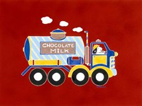 Chocolate Milk Truck Fine-Art Print