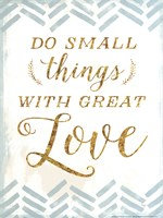 With Great Love Fine-Art Print