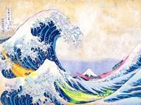 Hokusai's Wave 2.0 Fine-Art Print