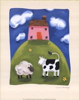 Pink Farmhouse Fine-Art Print