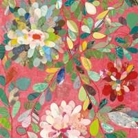 Red and Pink Dahlia III Fine-Art Print