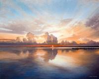 Sunset over Lake Fine-Art Print