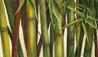 Bamboo on Beige I Fine-Art Print
