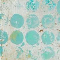 Aqua Circles I Fine-Art Print