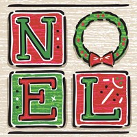 Noel and Santa II Fine-Art Print